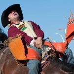Saddle bronc - photographer David Reid